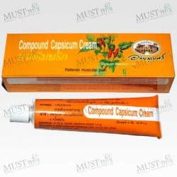 Abhaibhubejhr Compound Capsicum Cream 25 g