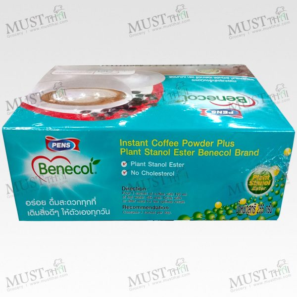 Benecol Instant Coffee Powder Plus Plant Stanol Ester 255 g box of 15 sachets
