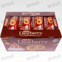 Dewberry Sandwich Cookies with Cream Strawberry Jam