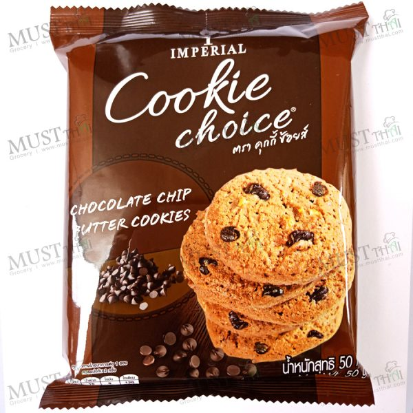 Cookies Choice Chocolate Chips Butter Cookies.