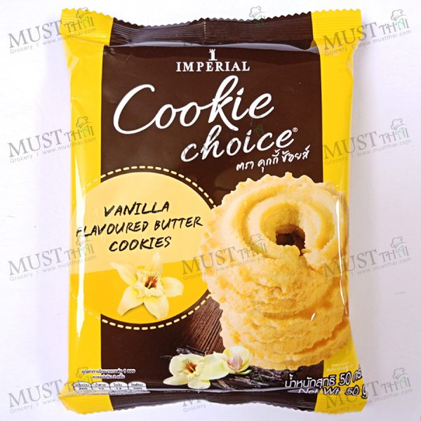 Cookie Choice Vanilla Flavoured Butter Cookies.