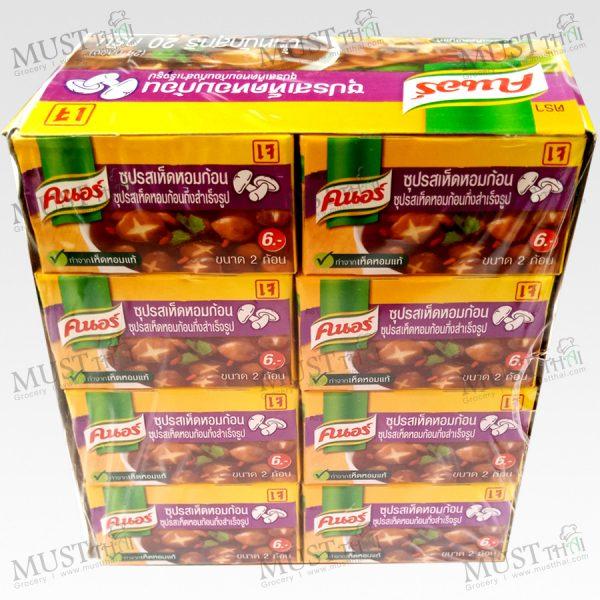 Knorr Cubes Shitake vegetarian box of 24