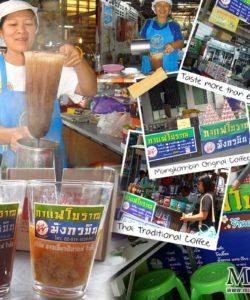 Good taste, traditional tea and coffee of MungKornBin