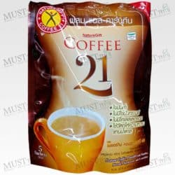 Naturegift Coffee 21 Instant Coffee Powder with L-Carnitine 13.5g x 5 sachets