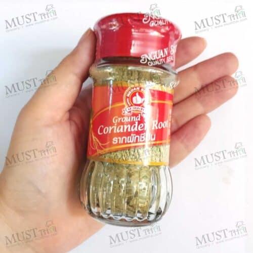 Nguan Soon Brand Ground Coriander Root 50g