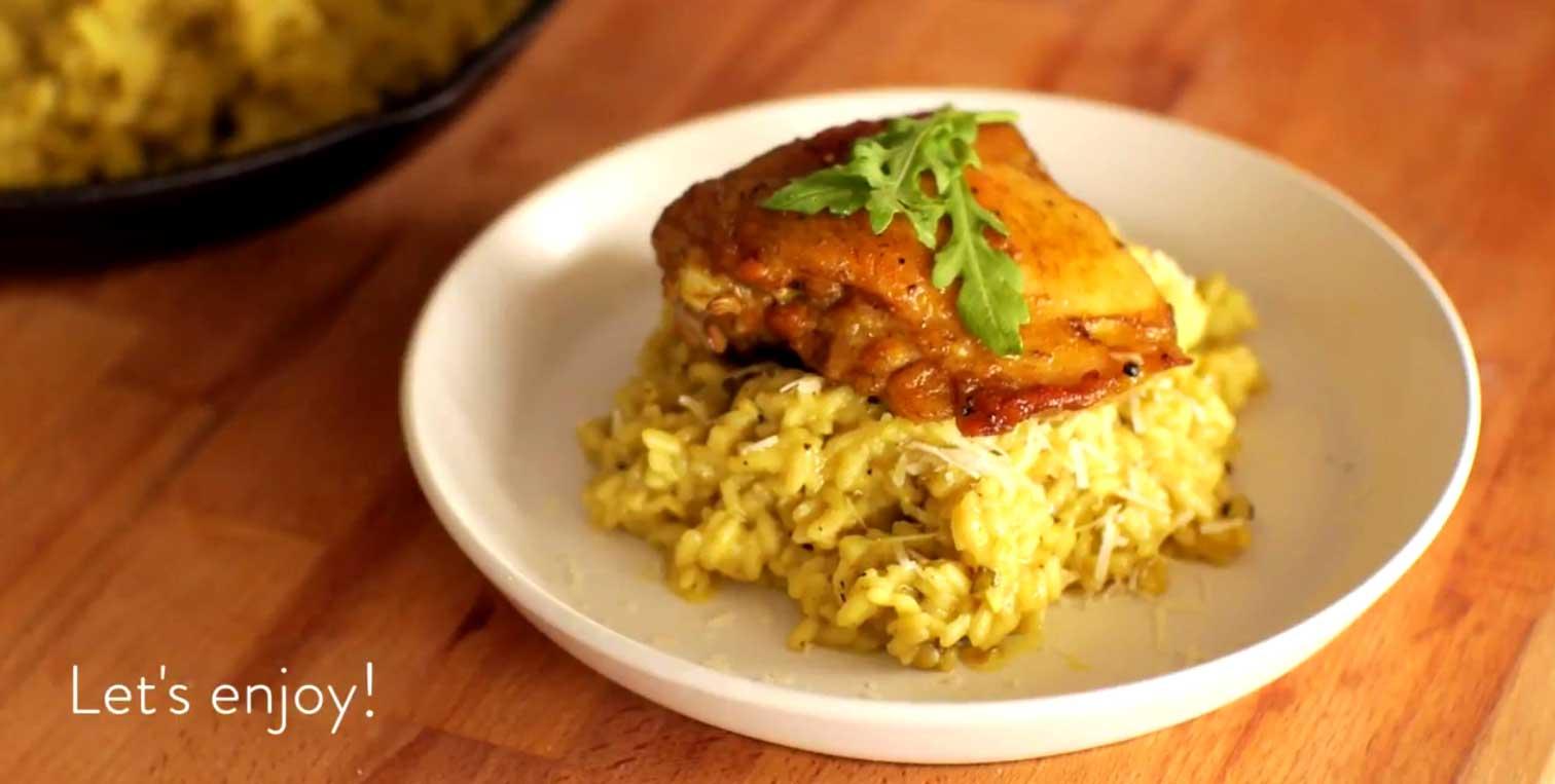 Spicy Chicken-in-Rice