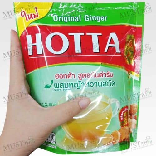 HOTTA Instant Ginger Original Formula with Stevia Extract