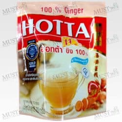 Hotta 100% Ginger Instant no sugar pack of 10 sachets
