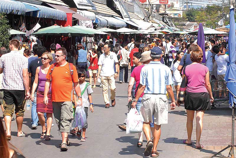 Jatujak Market.