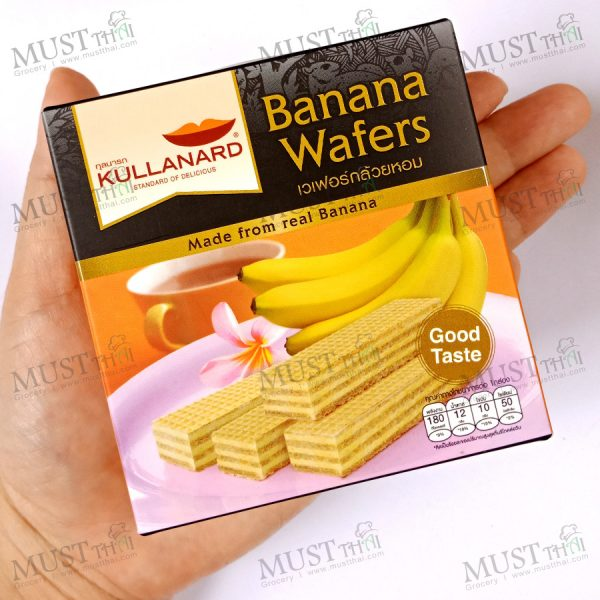 Kullanard Banana Wafers 33g