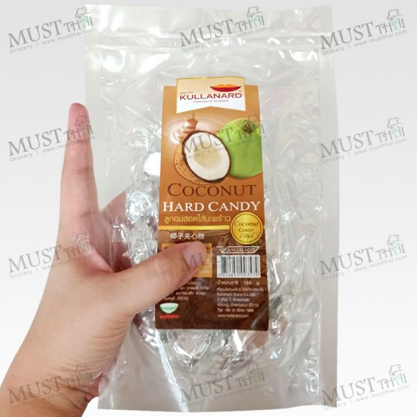 Kullanard Coconut Hard Candy 150 g