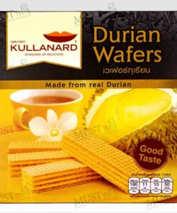 Kullanard Durian Wafers 33g