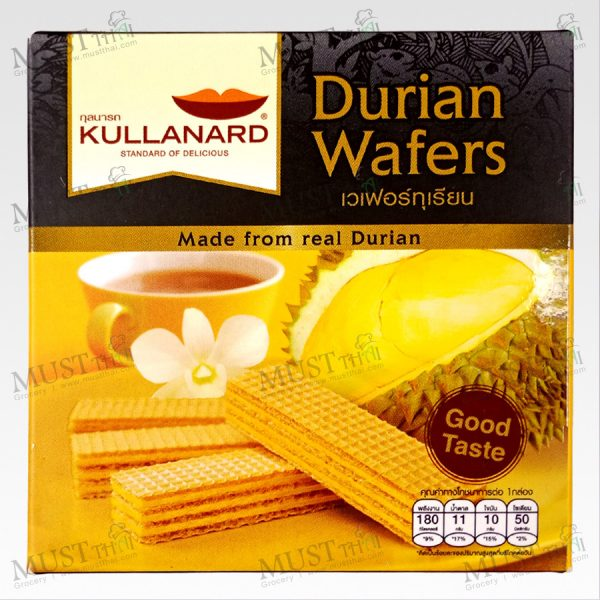 Kullanard Durian Wafers 33g