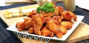 Seasoning powder Thai Herb For chicken. Spicy big wings marinade mix seasoning.