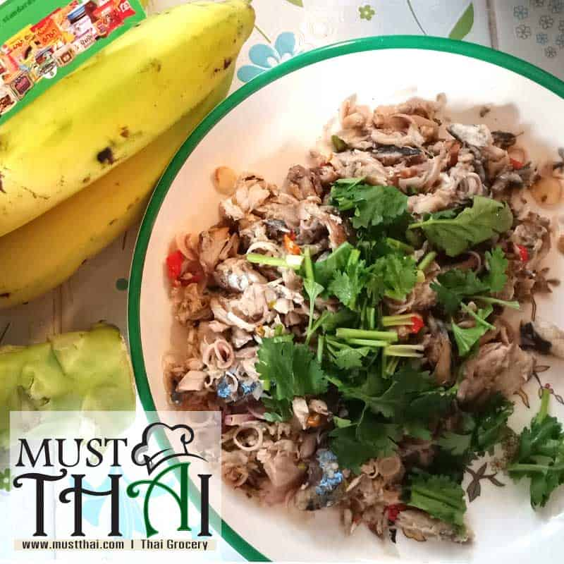 Yum Pla Tu, Thai Mackerel Salad