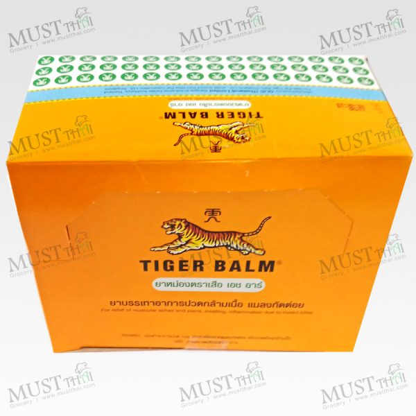 Tiger Balm HR Balm White Ointment 10g box of 12