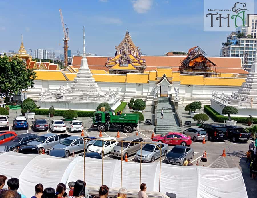 Wat Pariwas Thai temple Rama III, Bangkok