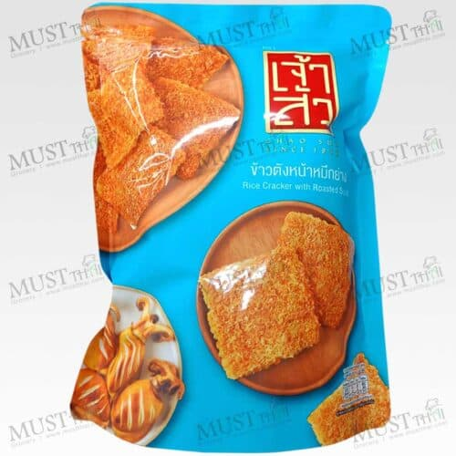 Chao Sua Rice Cracker with Roasted Squid 90g