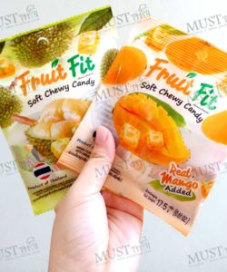fruit fit Thai soft chewy candy real mango-durian add 17.5 g