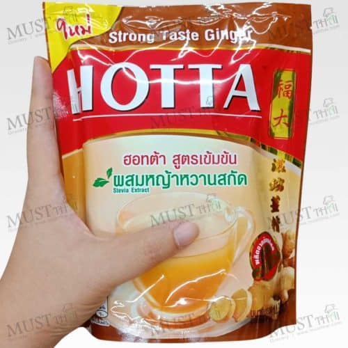 Hotta Instant Ginger with Stevia Extract Strong Taste Formula
