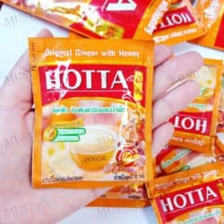 HOTTA Original Ginger with Honey Instant Ginger