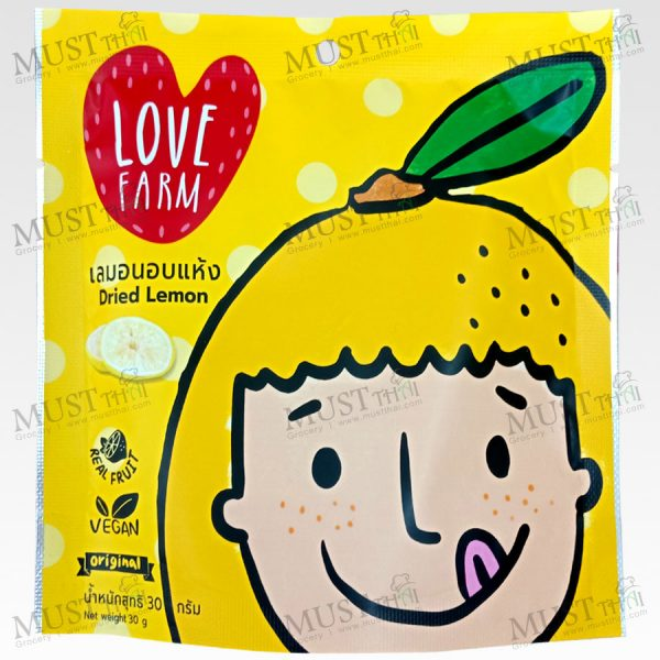 Love Farm Dried Lemon 30 g