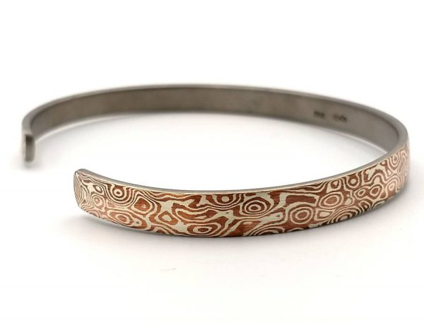 Mokume Gane Bangle