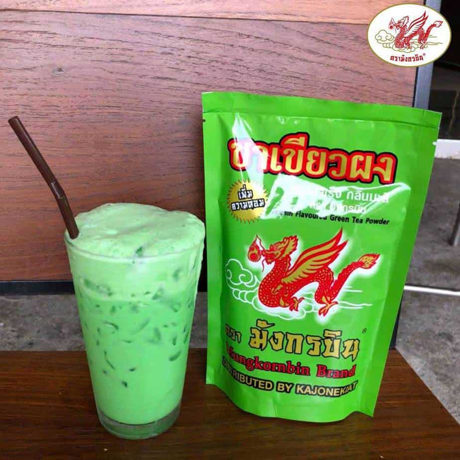 MungKornBin Jasmin Flavoured Green Tea Powde