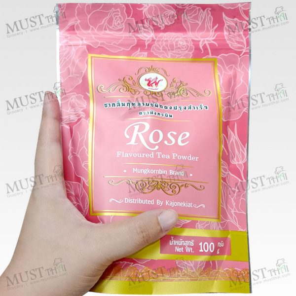 MungKornBin Rose flavoured Tea Powder 100 g