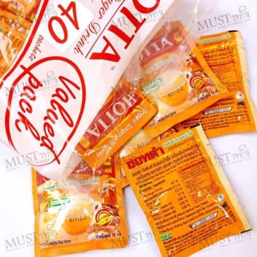 HOTTA save pack Original Ginger with Honey Instant Ginger