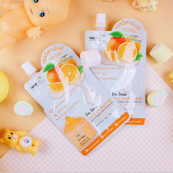 Nami I'm Fresh Jeju Vitamin C Brightening Gel