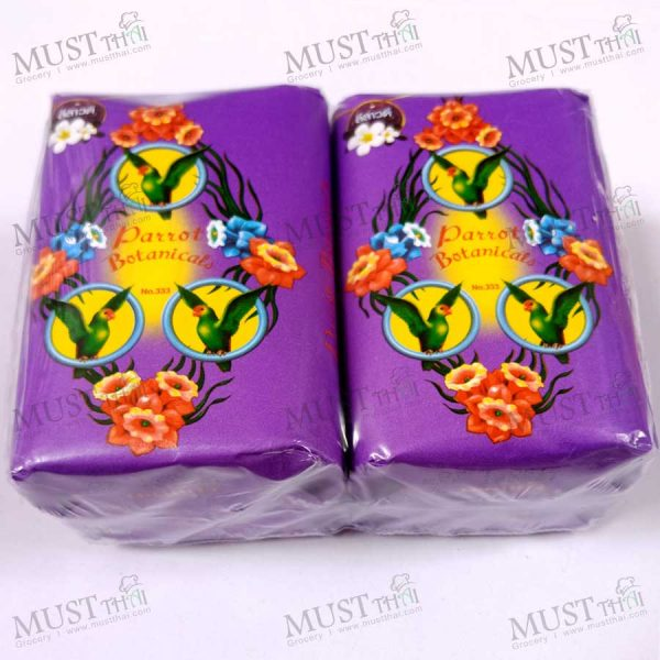 Parrot Botanicals Frangipani Fragrance Bar Soap 110 g 4 bars