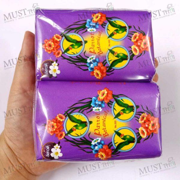 Parrot Botanicals Frangipani Fragrance Bar Soap 110 g 4 bars
