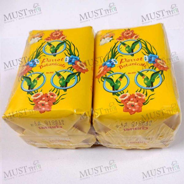 Parrot Botanicals Jasmine Fragrance Bar Soap 110g 4 bar