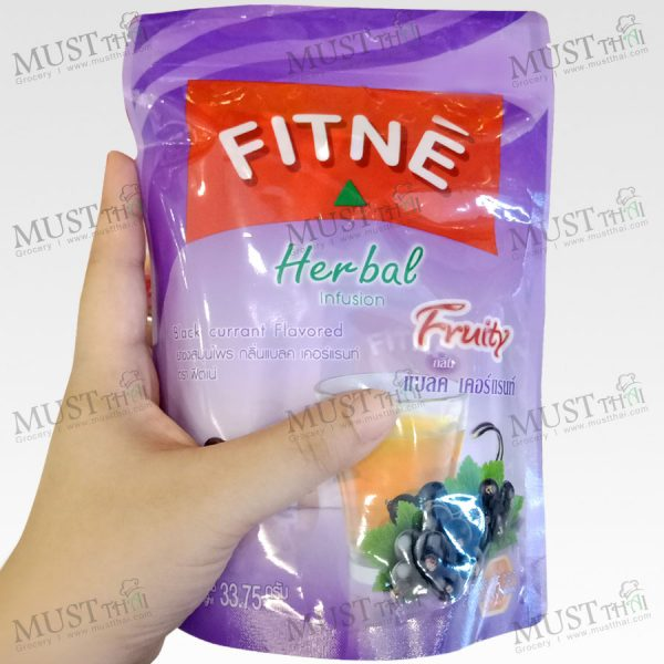 Fitné Herbal InfusionBlack Currant Flavoured