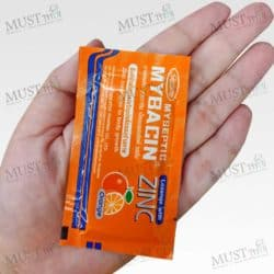 Myseptic Mybacin New formula Lozenges orange add Zinc