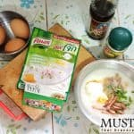 Knorr instant porridge by Thai home cooking