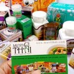 Thai grocery with popular products