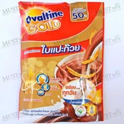 Ovaltine Gold Malt Beverage 3in1 Chocolate Gingko Extract 30 g Pack 5 sachets
