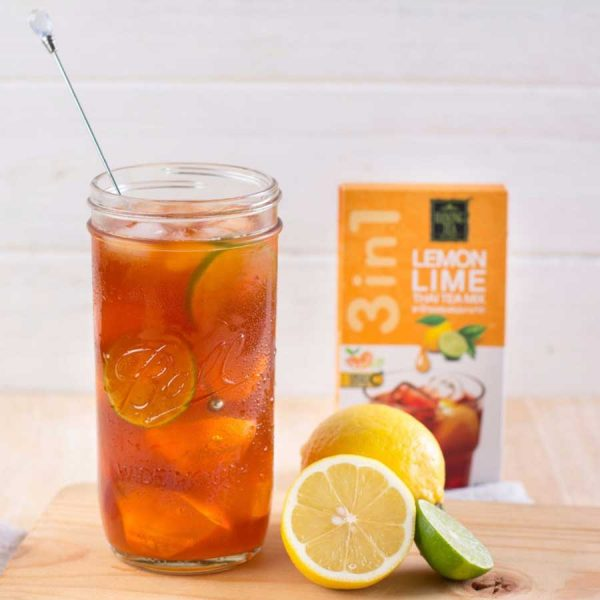 Ranong Tea 3in1 Lemon Lime Thai Tea Mix 65 g