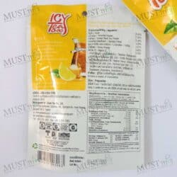 Ranong Tea Instant Honey Lemon Flavour Icy Tea Mix 4 Sachets