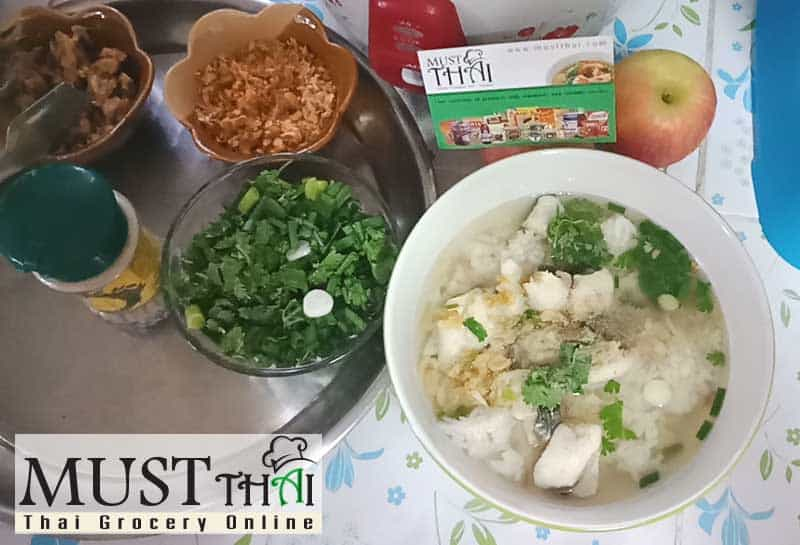 Soft Boiled Rice With Fish Thai Grocery Online