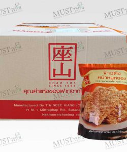 ChaoSua Rice Cracker with Pork Floss 100g box of 30 bag