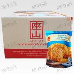ChaoSua Rice Cracker with Roasted Squid 100g box of 30 bag