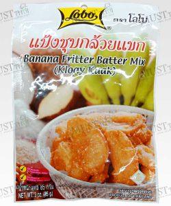 Lobo Banana Fritter Batter Mix 85 g