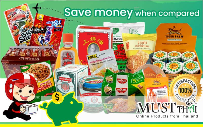 Thai Grocery Online save money.