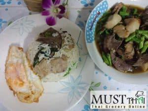 Plan meals stir fry hot basil with fried egg