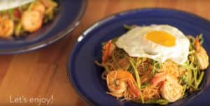 Kaeng-Som Stir-Fried Rice Vermicelli by Lobo