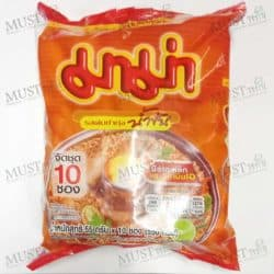 MaMa Instant Noodles Shrimp Creamy Tom Yum Flavour 55 g pack of 10 Thai 01