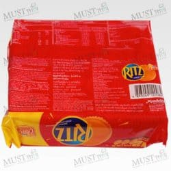 Cracker Sandwiches filled with Cheese Flavored Cream - Ritz 27g (box of 12)
